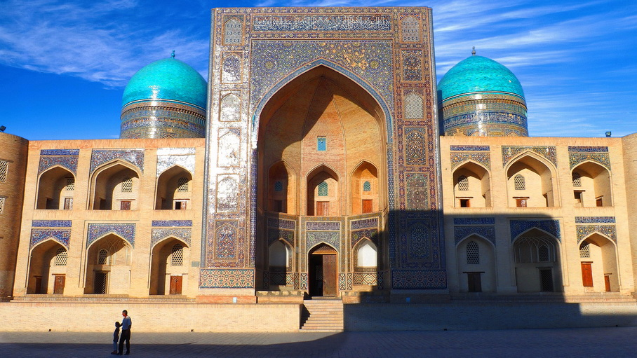 Circuito completo por Uzbekistan